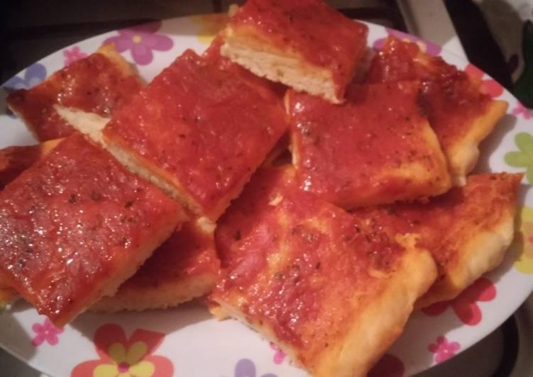 como se hace la masa de la pizza con royal