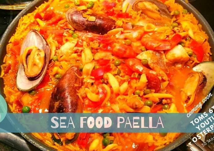 Paella 🥘 Seafood
