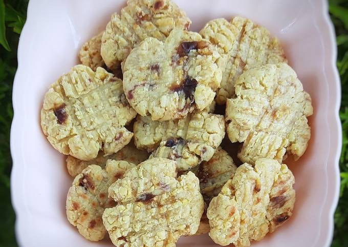 Oat kurma cookies teflon cemilan anak