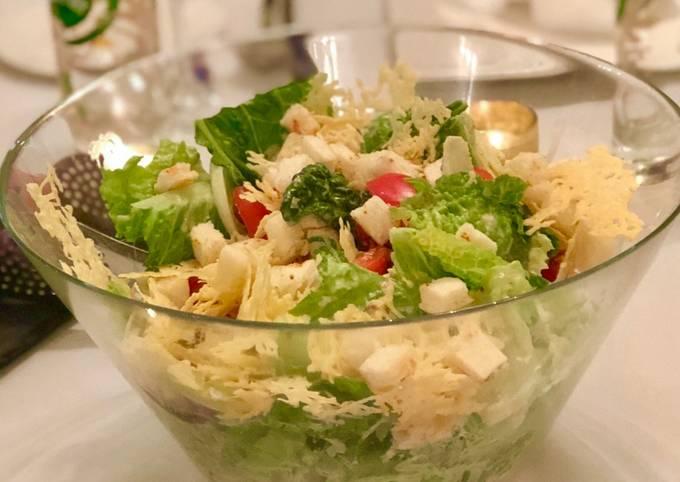 Recipe: Delicious Caesar Salad