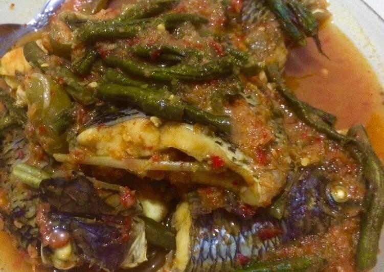 Cara Gampang Menyiapkan Asam Pedas Ikan Nila, Lezat