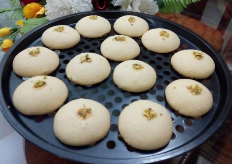 Steps to Prepare Super Quick Homemade Naan Khatai