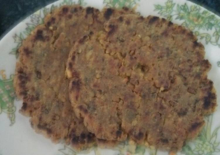 Grandmother's Dinner Ideas Speedy Moth and poha paratha