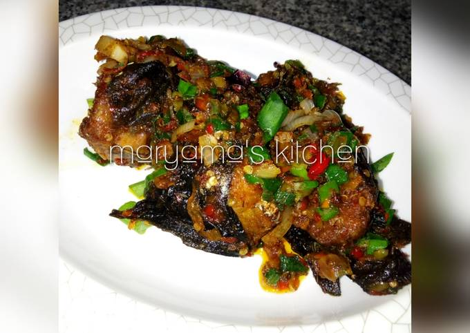 Peppered cat fish