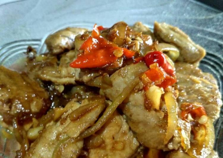Spicy Tuna With Teriyaki Sauce