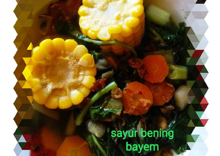 Langkah Mudah untuk Menyiapkan Sayur Bening Bayem Anti Gagal