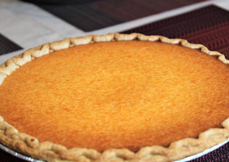 Recipe of Any-night-of-the-week Sweet Potato Pie