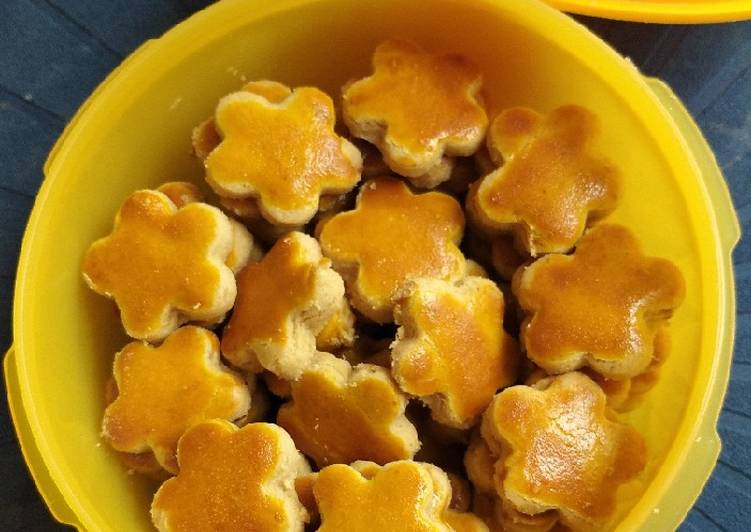 Kue Kacang Cetakan Bunga