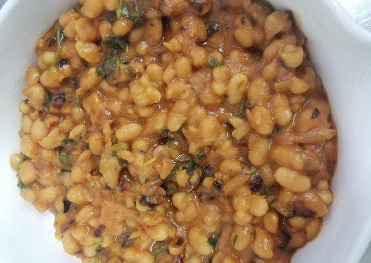 Steps to Prepare Super Quick Homemade Baked beans or Luba