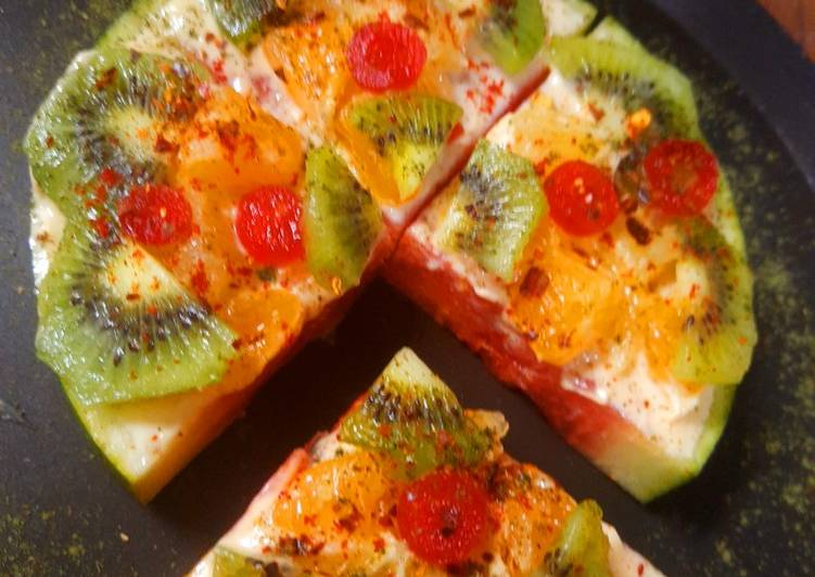 25 Minute Step-by-Step Guide to Prepare Special Watermelon Pizza
