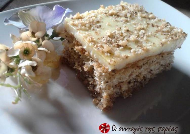 Steps to Make Quick Perfect karidopita with pudding