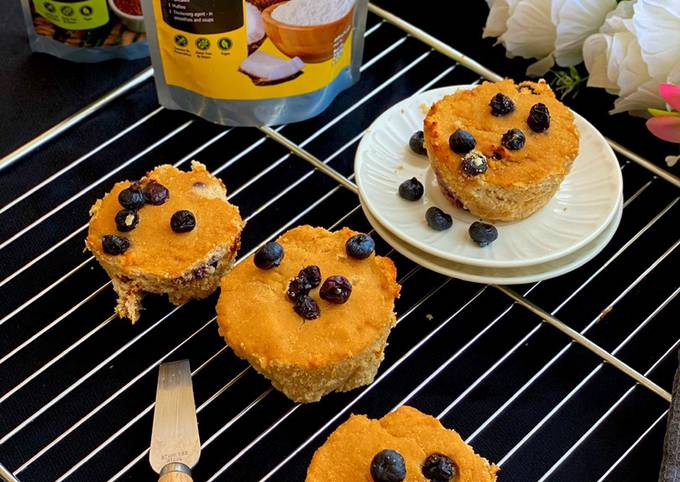 Easiest Way to Make Appetizing Blueberries Muffins Make a sweet Treat