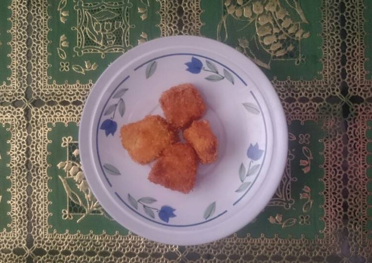Nugget Ayam Wortel Mpasi 1 tahun +