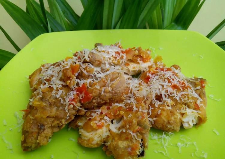Ayam geprek bensu kw/ ayam geprek pedas gila