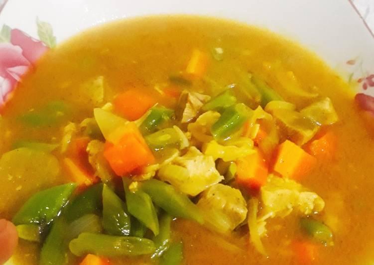 Kari Ayam (super praktis) - cookandrecipe.com