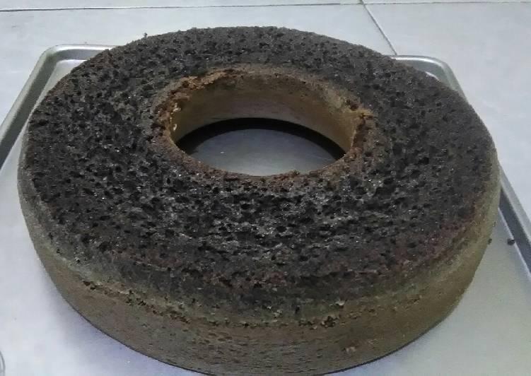 cara bikin Bolu ketan hitam panggang - Sajian Dapur Bunda