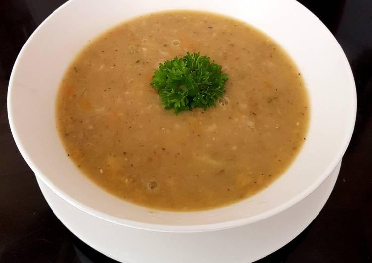 My Barley & Veg Soup 💜