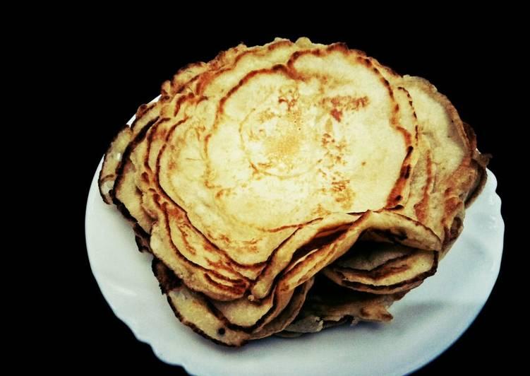 Step-by-Step Guide to Prepare Favorite Milk pancakes