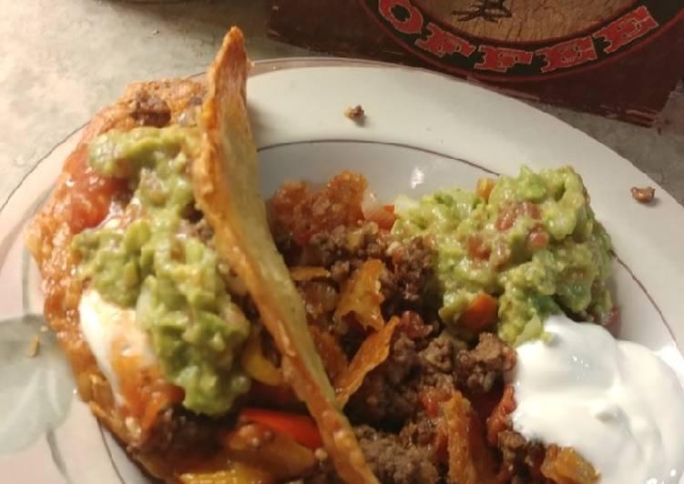 Crunchy Beef Tacos (Keto)