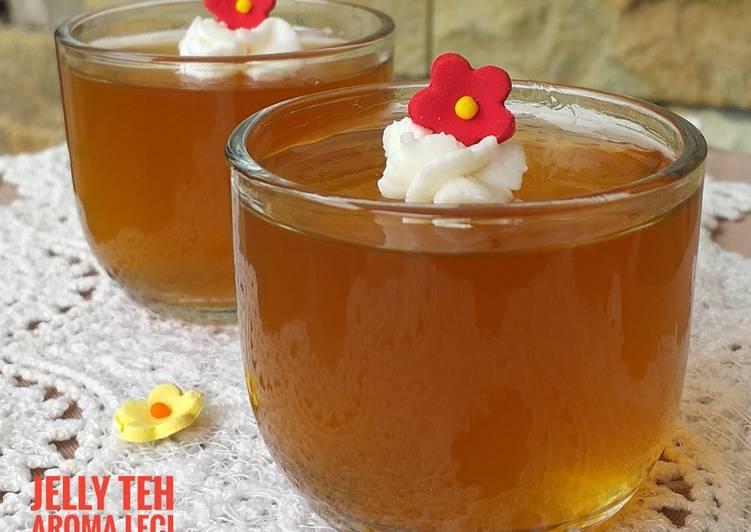 Jelly Teh Aroma Leci