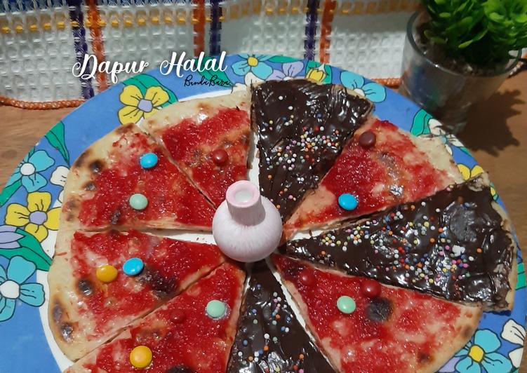 Sweeties Yoghurt Pizza : Teflon