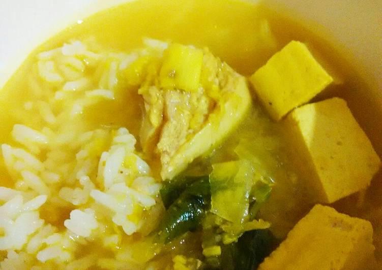 Cara membuat: Nasi Soto Ayam (11 month+)