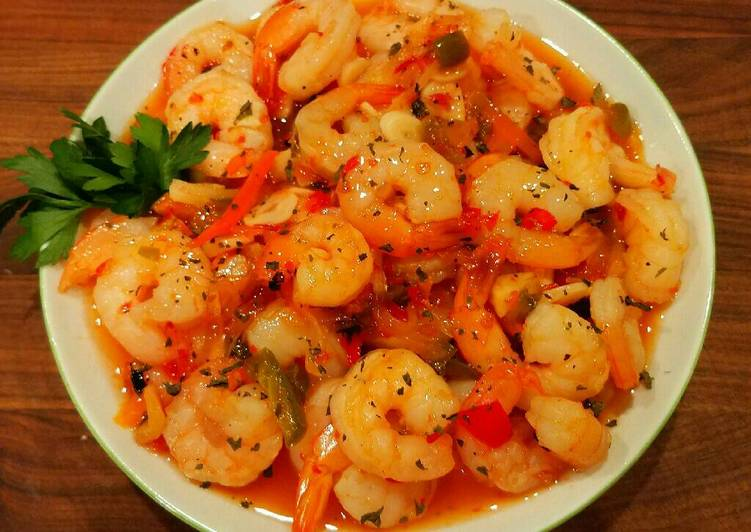 Mike's Sweet Thai Garlic Firecracker Shrimp