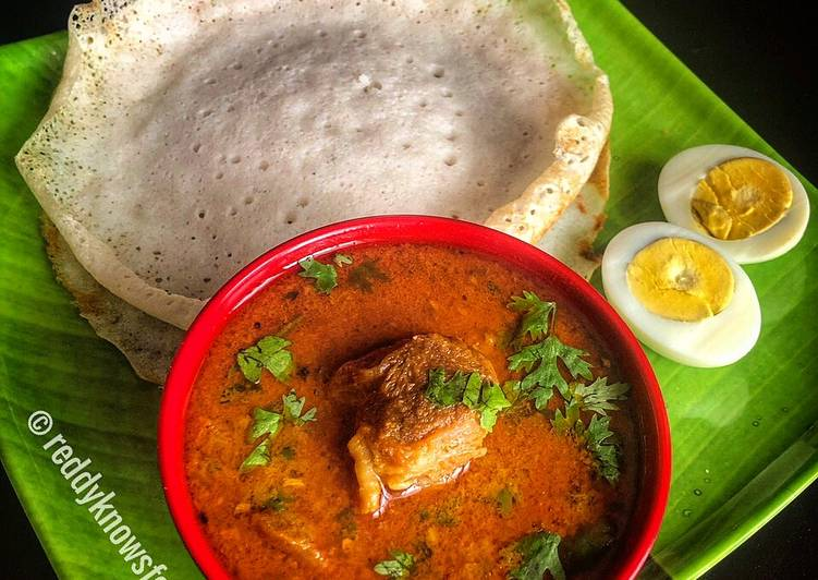 Recipe of Homemade Malabar Coconut Milk Mutton Curry