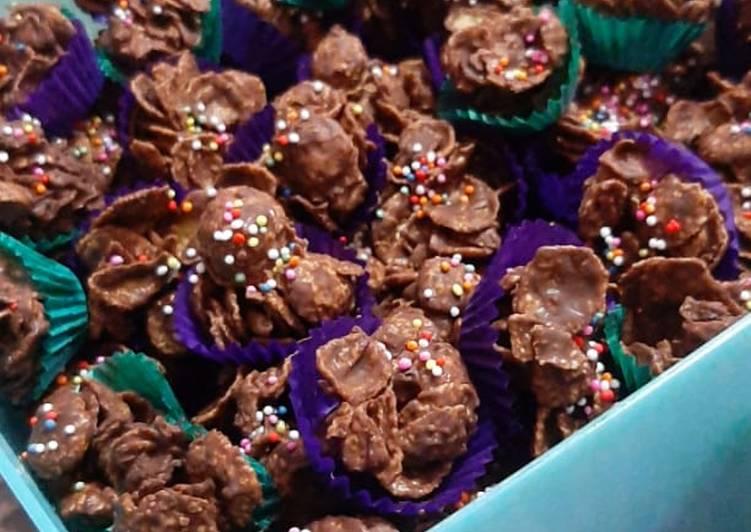 Resep Coklat cornflakes yang Enak Banget