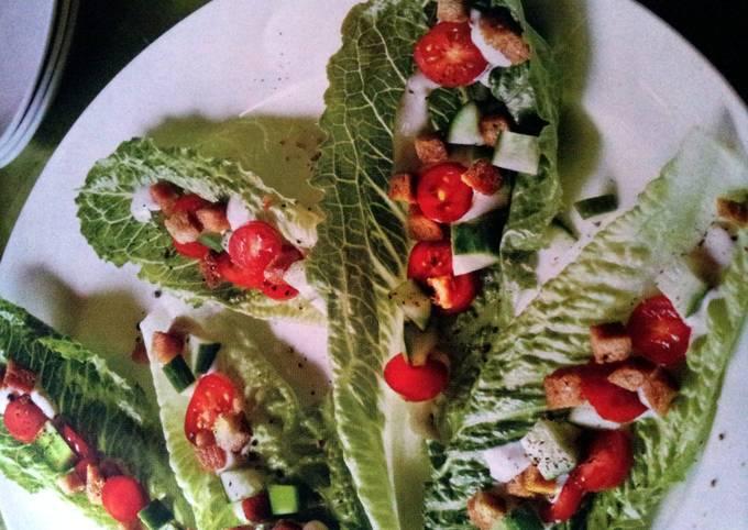 Angel's Caesar Salad Bites