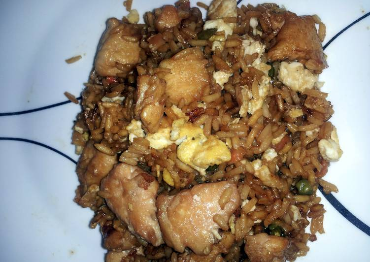 Angel's Chicken Fried Rice