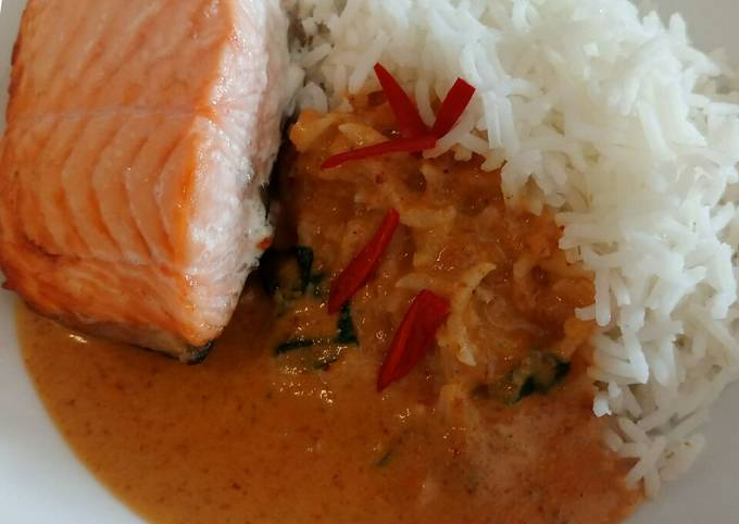 Fluffy's Yui inspired salmon