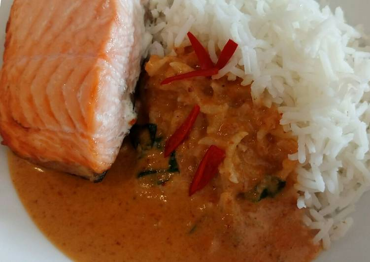 Fluffy's Yui inspired salmon Finding Healthful Fast Food