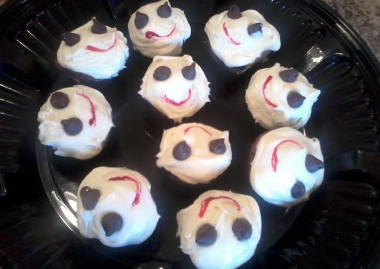 Recipe: Delicious ghost muffins