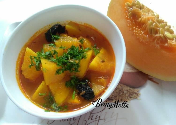Monday Fresh Muskmelon curry