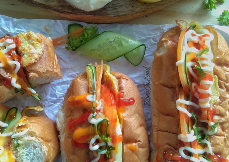 Resepi: Roti john omelette sandwich #phopbylinimohd #task4  Lazat