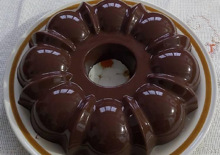 44. Pudding Brownies Chocolatos