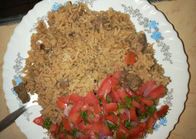 Simple Way to Make Perfect Beef pilau