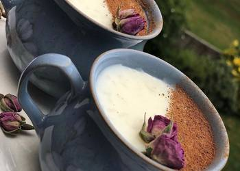 How to Cook Delicious Egyptian rice pudding Roz blaban Easy creamy quick and lush