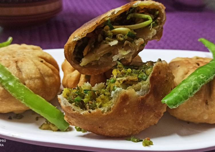 What are some Dinner Ideas Super Quick Homemade Hari tuvar kachori lilva ni kachori