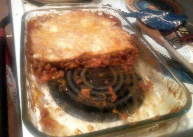 Easiest Way to Prepare Delicious burrito pie