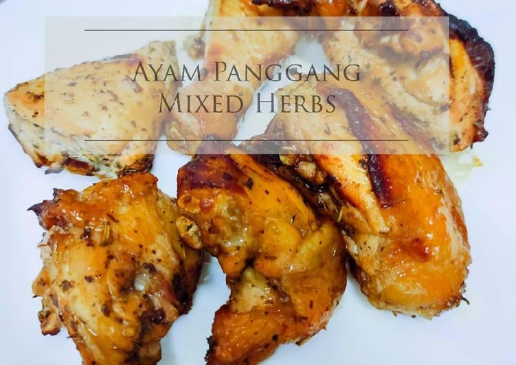 Ayam Panggang Mixed Herbs - velavinkabakery.com
