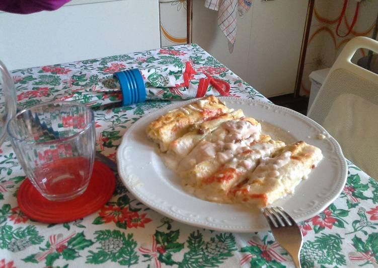 Ricetta Cannelloni con ragu' di carne #cookpad #ciaksicucina #nataleconciak