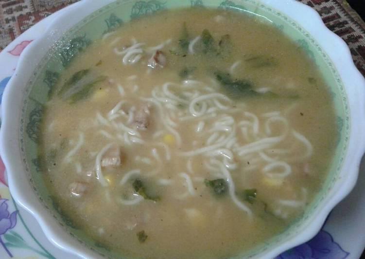Chicken Noodles Soup
