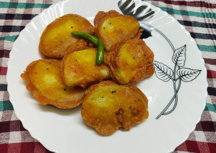 Ash Gourd Pocket Pakora