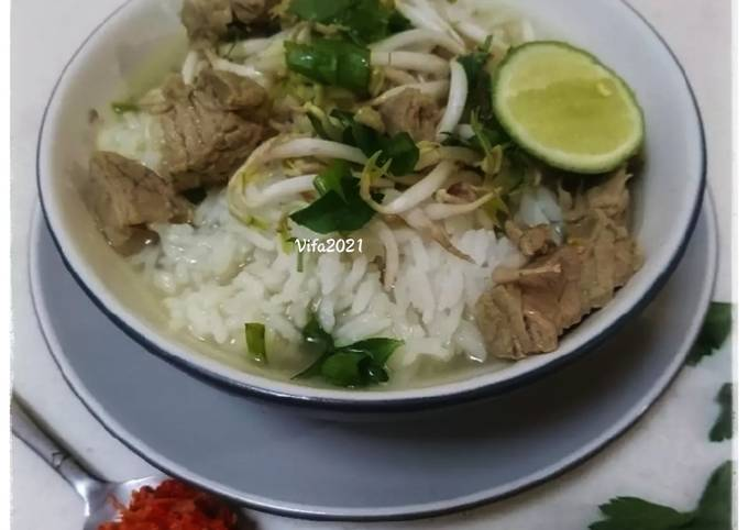 Langkah Mudah untuk Membuat Soto daging boyolali Ala Eric Herjanto MasterChef Indonesia