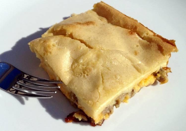 Sausage & Cheese Breakfast Bake