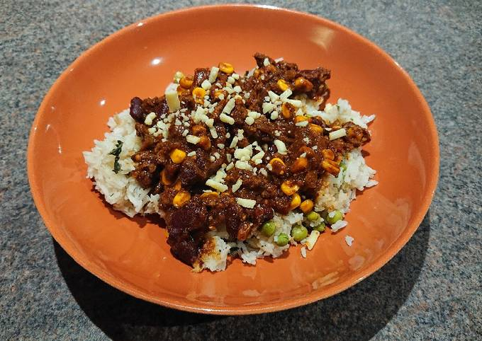 Vegan Chilli With Rice