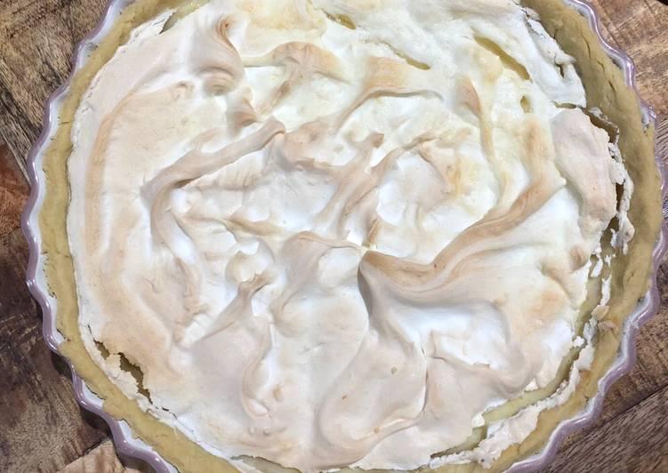 Easiest Way to Prepare Super Quick Homemade Lemon Meringue Pie