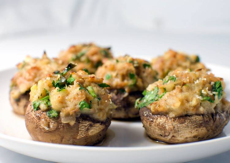 Joe Pineda's Famous Stuffed Mushrooms